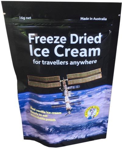 Australia Freeze Dried Ice Cream