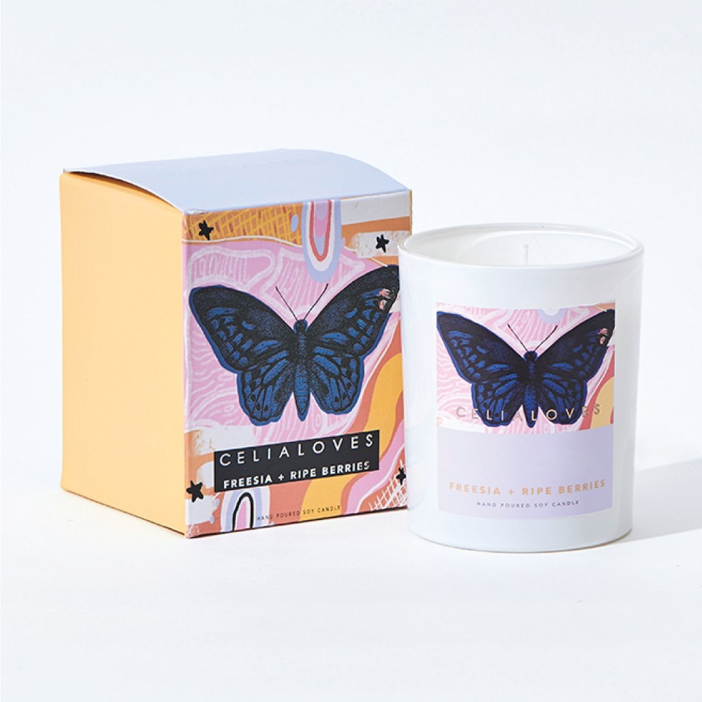 Australia 40 hr Freesia + Ripe Berries Candle