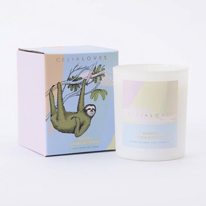 Australia 40 hr Sweet Lemongrass Candle