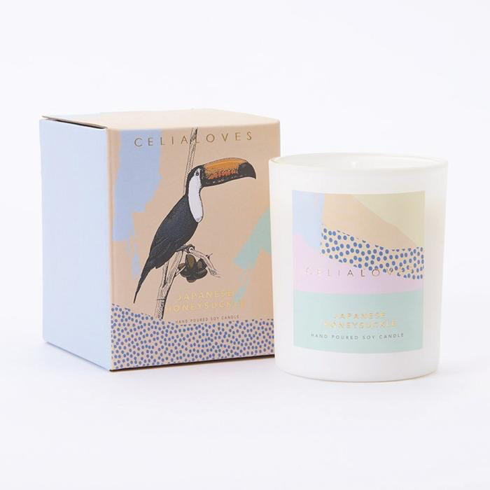 Australia 40 hr Japanese Honeysuckle Candle