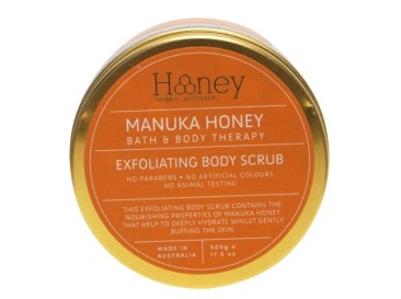 Australia 500GM MANUKA HONEY BODY SCRUB