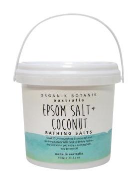 Australia 950GM Splotch Epsom Salt & Coconut Bathing Salts Tub