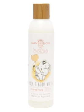 Australia EARTH LOVE BABY 250ML HAIR&BODY WASH - CHAMOMILE