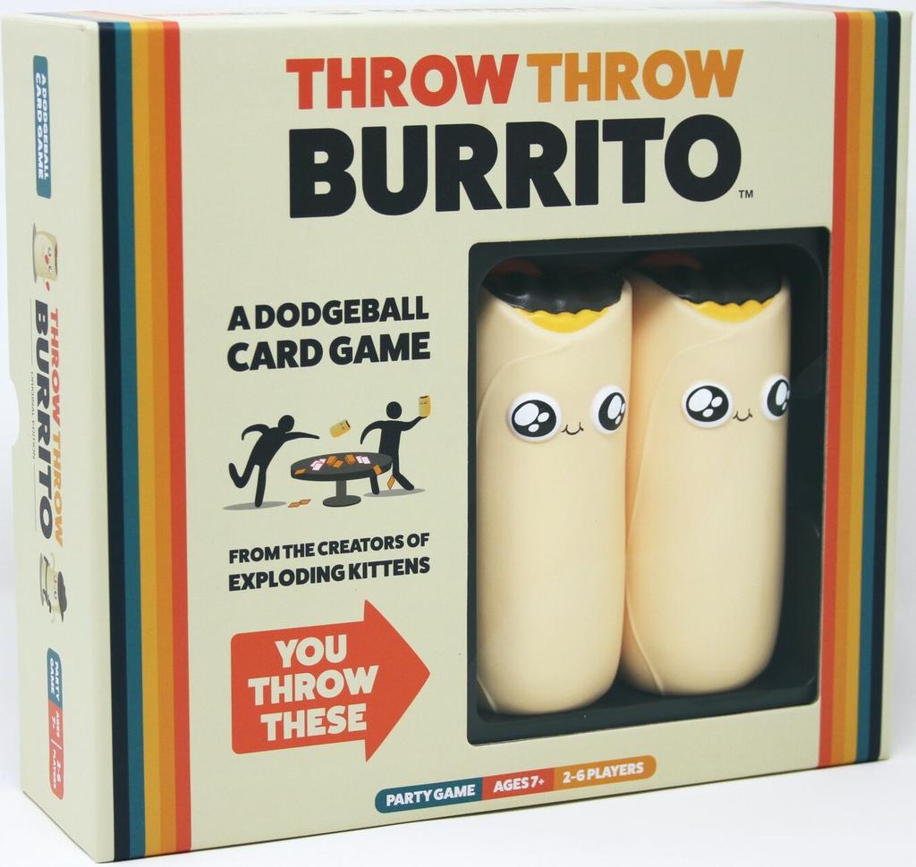 Australia Throw Throw Burrito