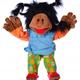 Europe Maggy Madchen mit echten Espandrillos 65cm Living Puppets