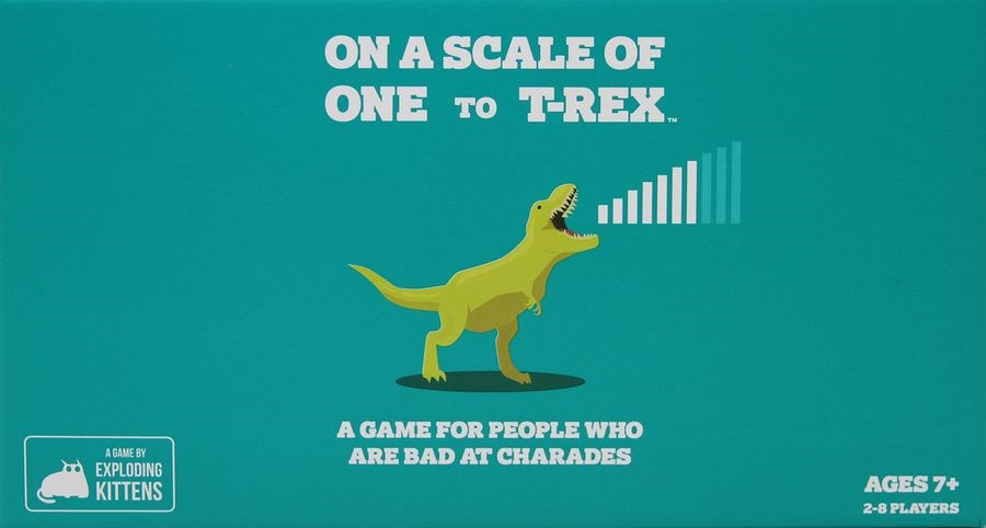 Australia On A Scale of One to T-Rex (By Exploding Kittens)