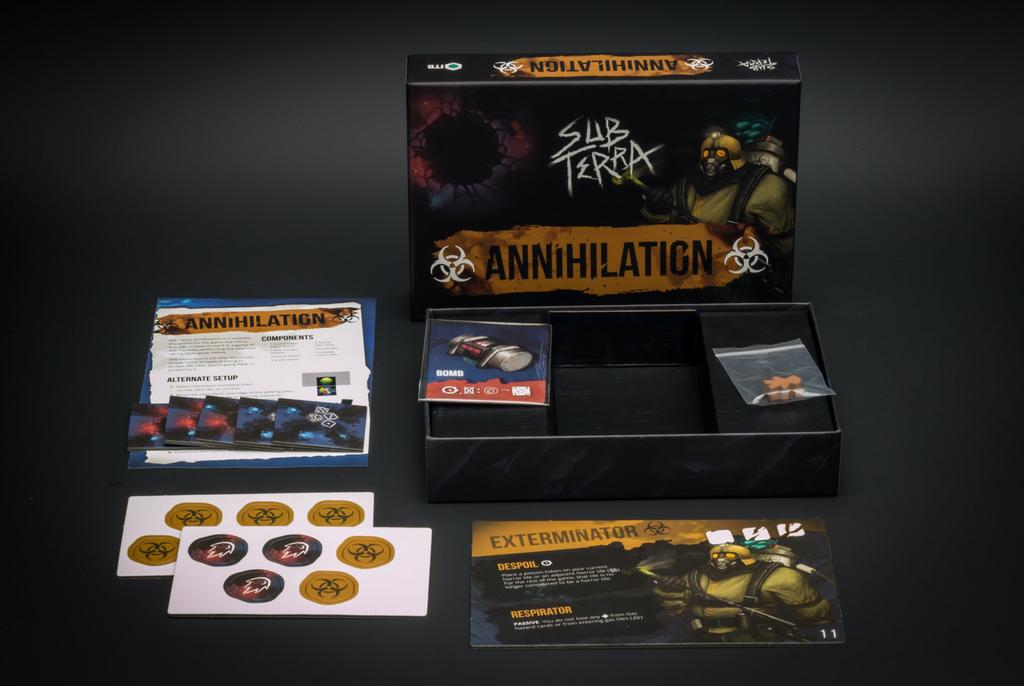 Australia Sub Terra Annihilation Expansion