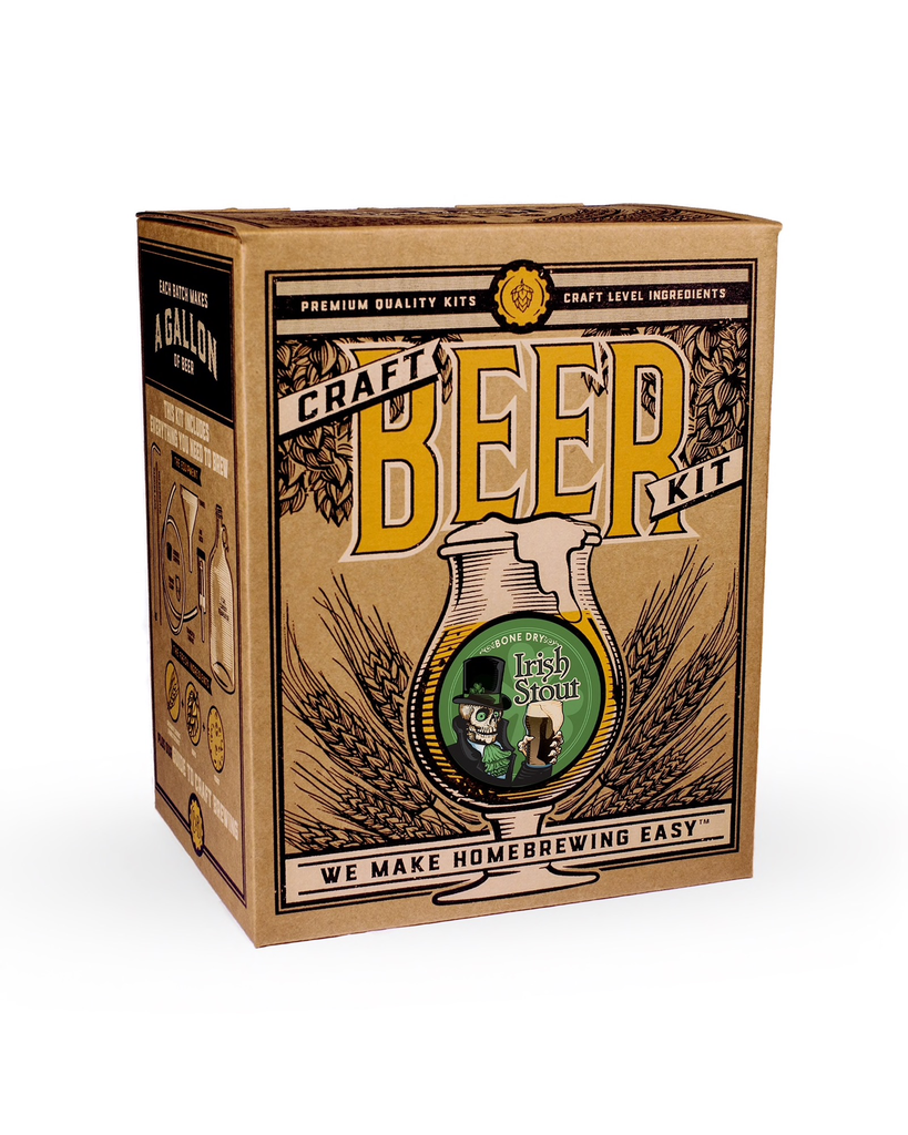Australia Craft A Brew - Bone Dry Irish Stout Brewing Kit