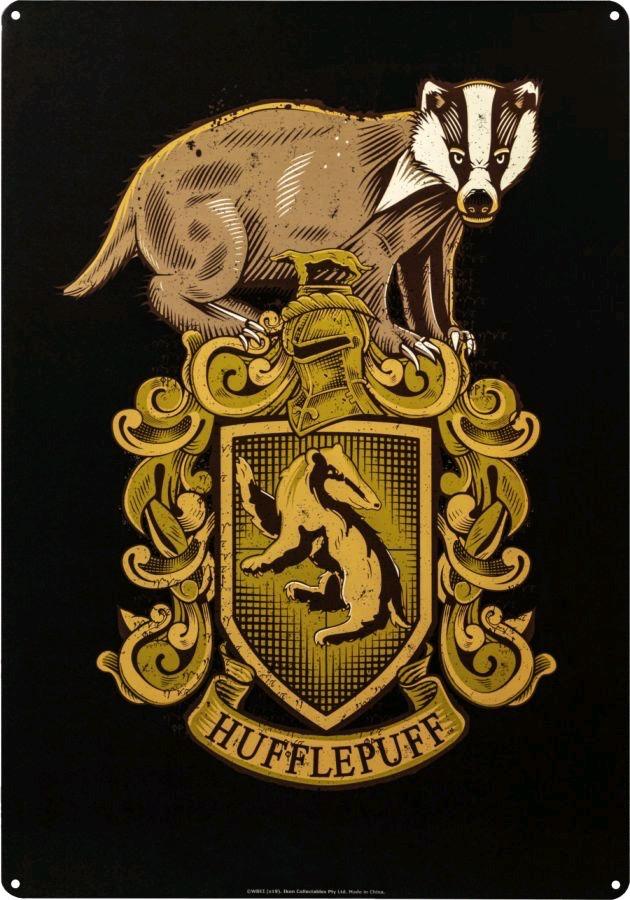 Australia Harry Potter - Hufflepuff A3 Tin Sign