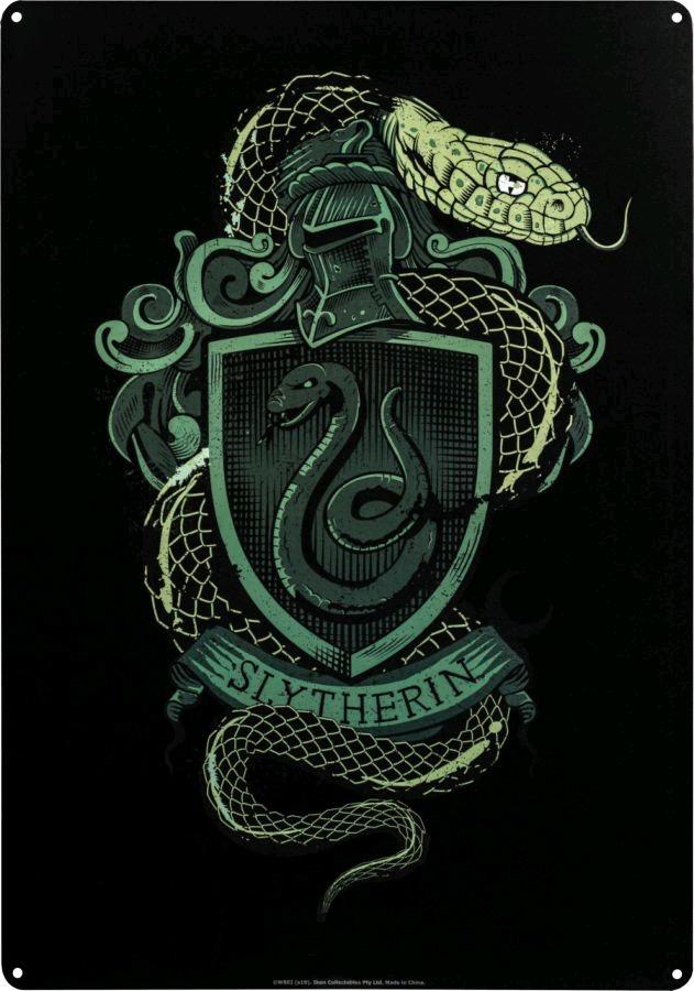 Australia Harry Potter - Slytherin A3 Tin Sign