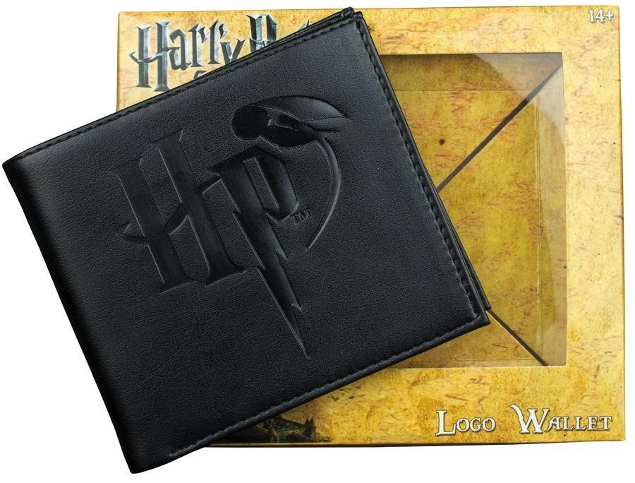 Australia Harry Potter - Logo Embossed Black Wallet