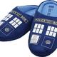 Australia Dr Who - TARDIS Printed Slippers Ladies 10