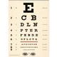 Australia Giftwrap/poster Eye Chart