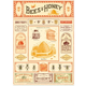 Australia Poster/Giftwrap Bees&Honey2