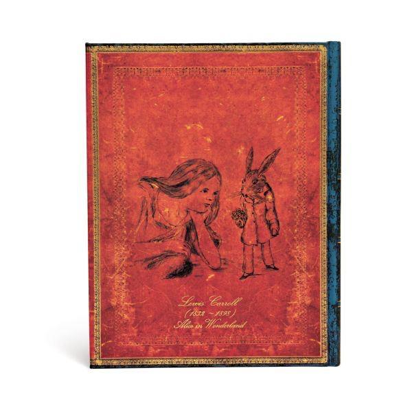 Australia Emb, Alice in Wonderland,Ult.Lin Paperblanks