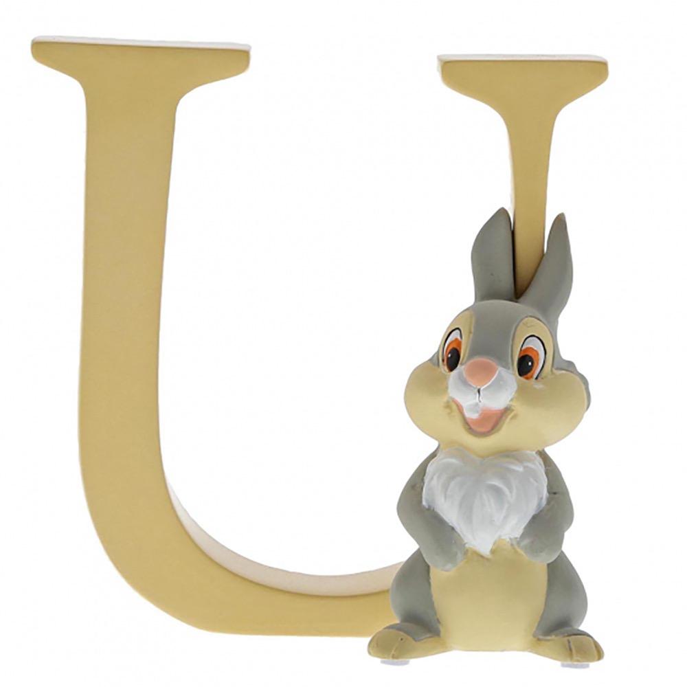 "Australia ""U"" - Thumper Disney Letter"