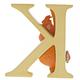 """Australia """"K"""" - King Louie Disney Letter"""