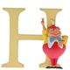 """Australia """"H"""" - Tweedle Dum Disney Letter"""
