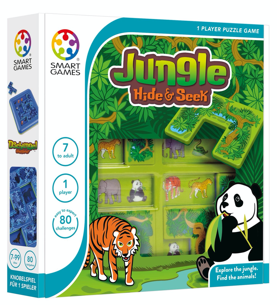Australia Jungle Hide & Seek - Smart Game
