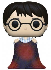 Australia Harry Potter - Harry w/lnvisibility Cloak Pop!