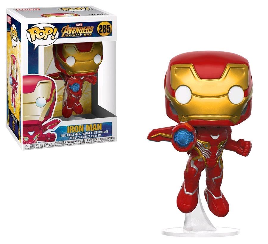 Australia Avengers 3 - Iron Man w/Wings Pop!