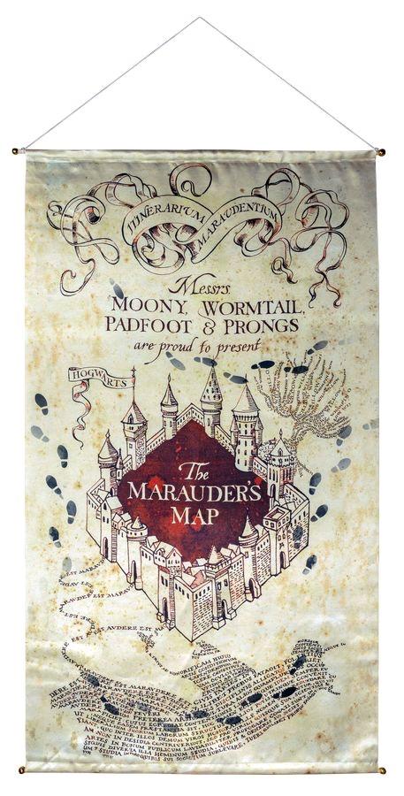 Australia Harry Potter - Marauder's Map Banner