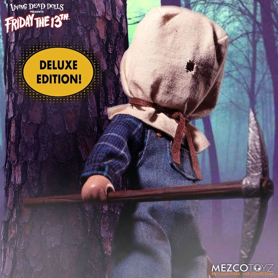 Australia Living Dead Dolls - Jason Voorhees Dlx Edition