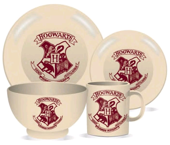 Australia Harry Potter - Hogwarts Crest 4pc Dinner Set