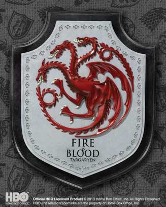 Australia Game of Thrones - Targaryen House Crest Plaque