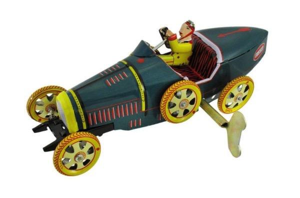 Australia RACING CAR 'BUGATTI' Wind Up