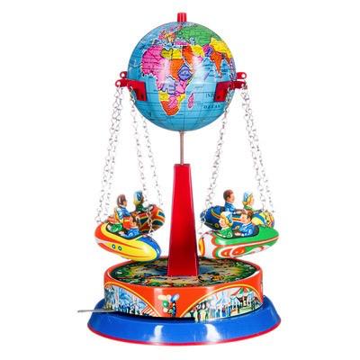 Australia Carousel - spinning globe