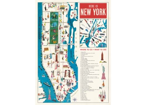 Australia Poster/Wrap - New York Map 5*