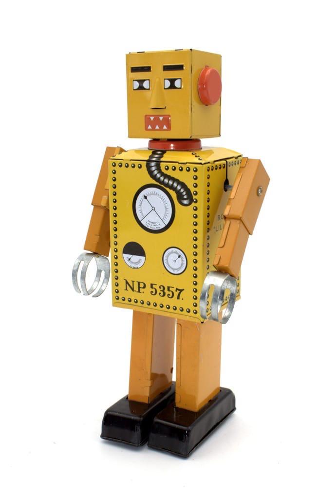Australia LILLIPUT ROBOT - SPECIAL YELLOW