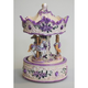 Australia 6' White/Purple Rose Carousel
