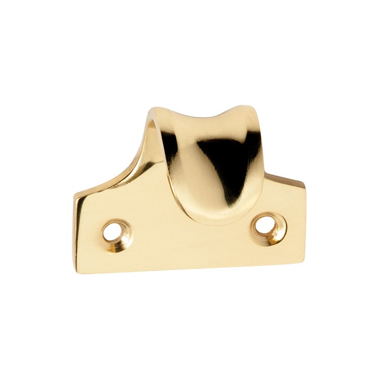 Australia Sash Lift Dished Polished Brass H38xW45xP30mm