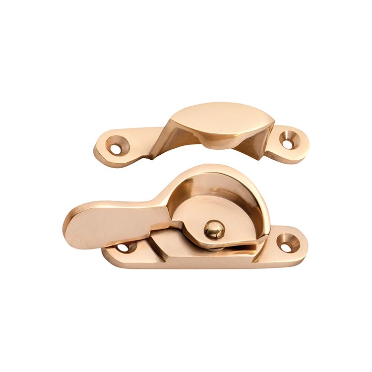Australia Sash Fastener Narrow Polished Brass L69xW17mm