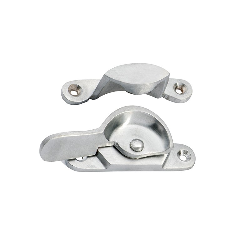 Australia Sash Fastener Narrow Satin Chrome L69xW17mm