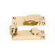 Australia Sash Fastener Reeded Ball Polished Brass L75xW24mm