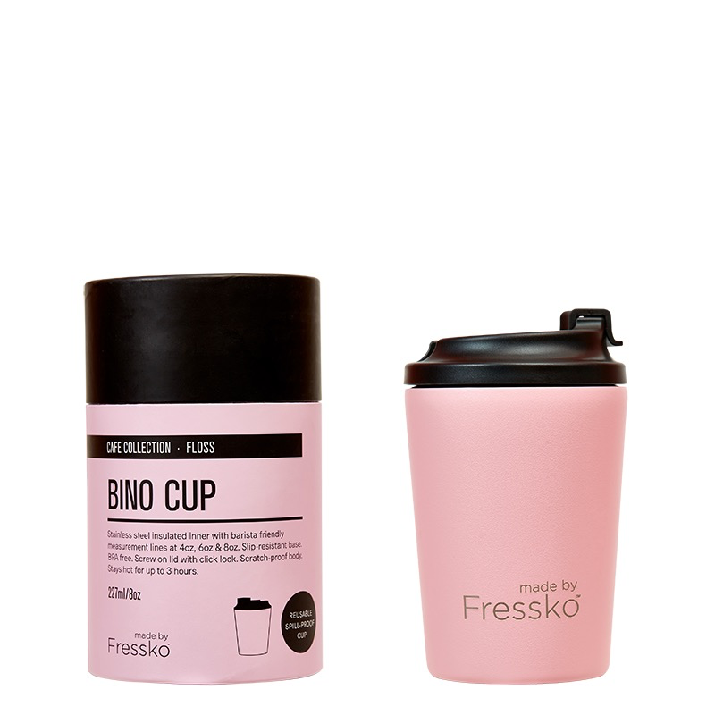 Australia Bino Pink/Floss 8oz Keep Cup