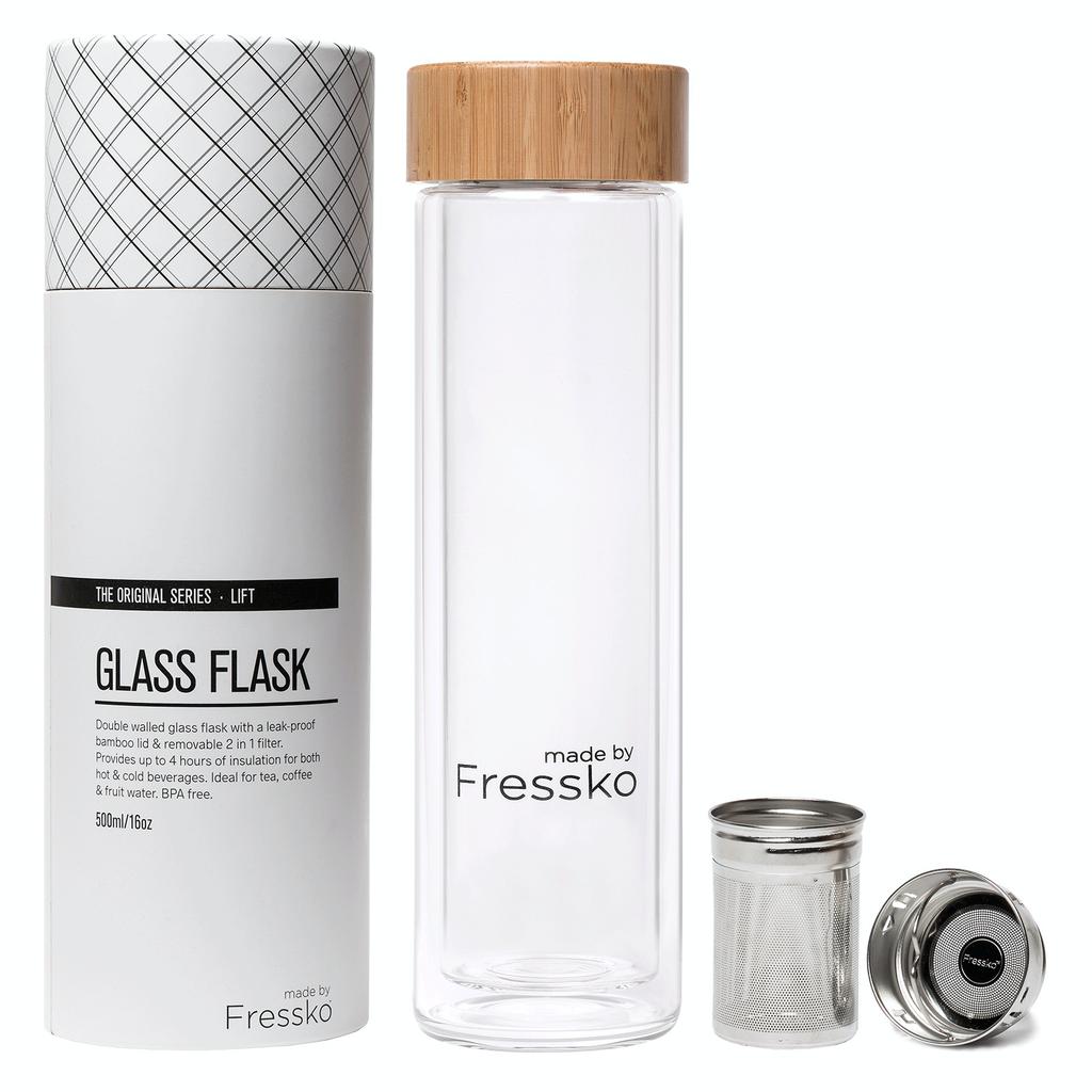 Australia Lift Flask 500ml Glass
