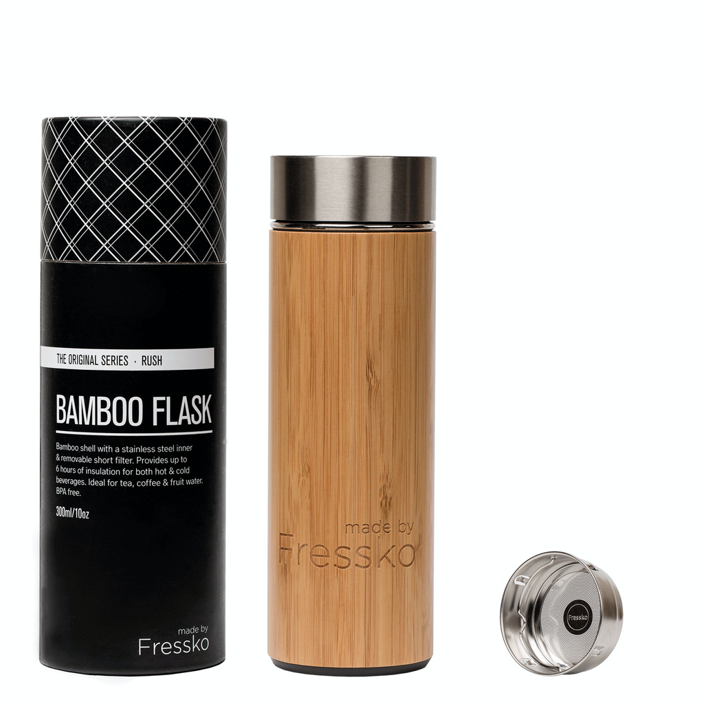 Australia Fressko Rush Flask 300ml Bamboo