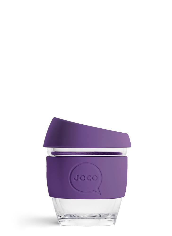 Australia 4oz Violet Glass Keep Cup