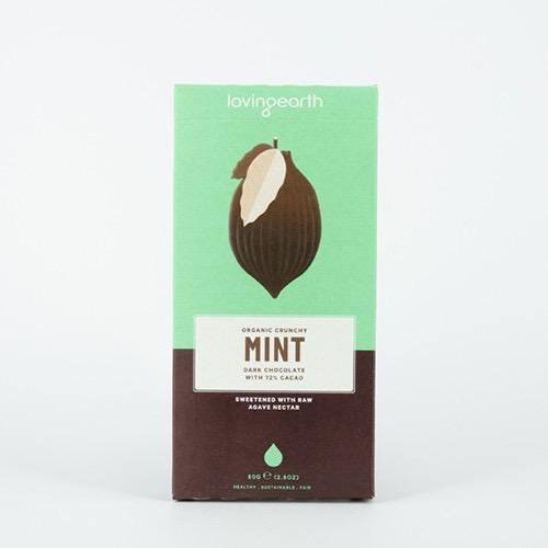 Australia Crunchy Mint Chocolate 80g