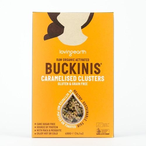 Australia Buckinis Caramel Clusters 400g