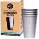 Australia EVER ECO Stainless Steel Drinking Cups 4x500ml