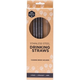 Australia EVER ECO Stainless Steel Straws Straight - 4Pack+Brush