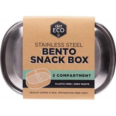 Australia EVER ECO S/STEEL Bento snakc box - 2 compartmemts