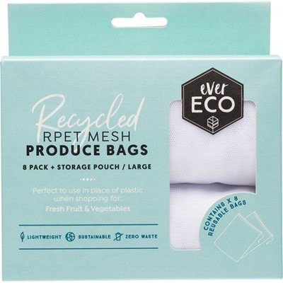 Australia EVER ECO Reusable Produce Bags Recycled Polyester Mesh - 8