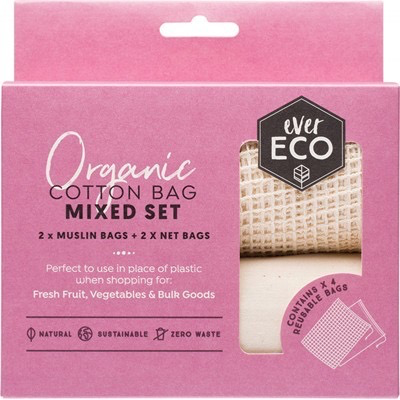 Australia EVER ECO Reusable Produce Bags Mixed Set - 4 Pk