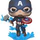 Australia Avengers 4 - Captain America w/ Mjolnir Pop!